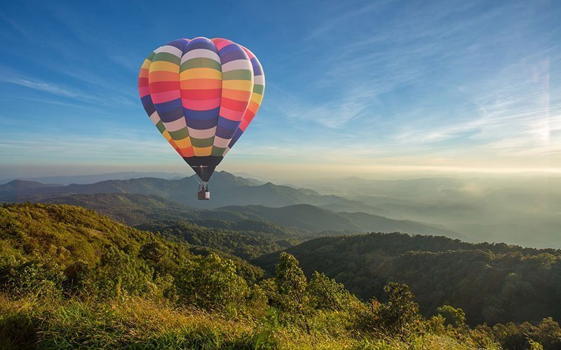 Le lappe Relais Hot Air Balloon Rides in Tuscany