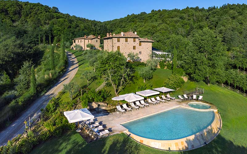 Book The Entire Property Le Lappe Relais in Tuscany
