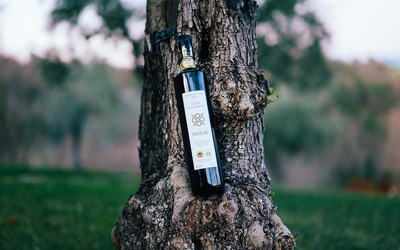 Extra Virgin Olive Oil Bio IGP Le Lappe Relais in Tuscany