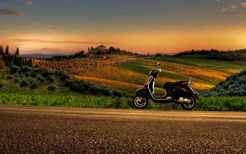 Tour In Vespa Le Lappe Relais Toscana